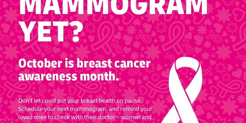 Have You Had Your Mammogram Yet?