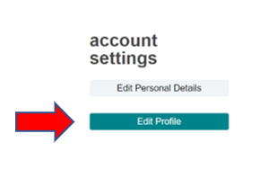 """Edit profile"" under ""Account settings"""