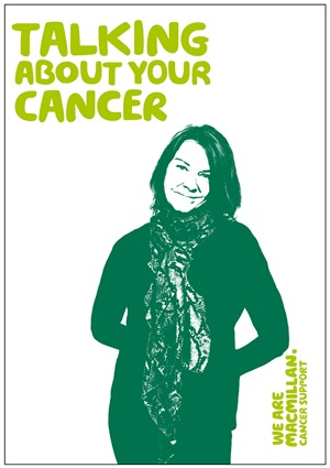 Image of the booklet Talking about your cancer