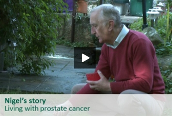 Nigel describes his experience of living with locally advanced prostate cancer, the side effects of treatment, and becoming a Cancer Voice for Macmillan.