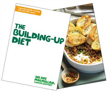 Image of The Building-up Diet booklet