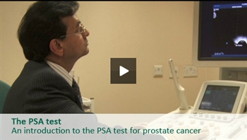 Urologist Shiv Bhanot describes the symptoms of prostate cancer and explains the PSA test (prostate-specific antigen test).