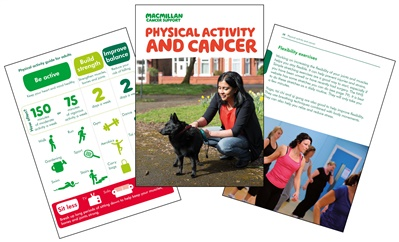 An image of the new Physical activity booklet