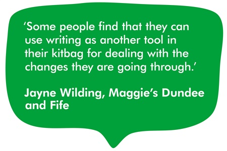 a quote from Jayne Wilding