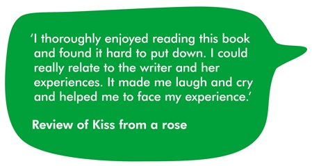 a quote from the Kiss from a rose review