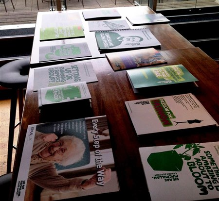 An image of some of the information Macmillan produce