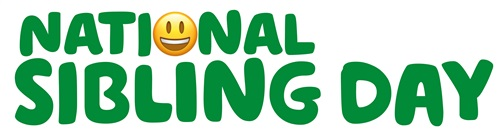 a banner which says National Sibling Day