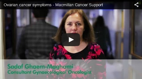 In this video Sadaf Ghaem-Maghami, Consultant Gynaceological Oncologist, provides a general overview of ovarian cancer symptoms.