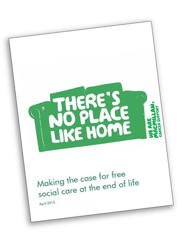 Making the case for free social care at the end of life report cover
